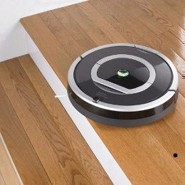 Cliff-Detect-System des Roomba 782 Saugroboters